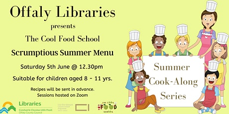 The Cool Food School Cook-Along tickets