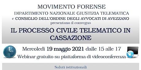 IL PROCESSO CIVILE TELEMATICO IN CASSAZIONE biglietti