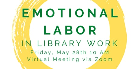 Recharge: Emotional Labor in Library Work ingressos