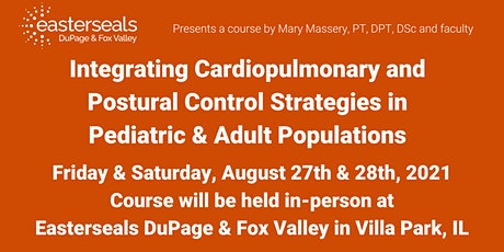 Cardiopulmonary and Postural Control Strategies in Peds & Adult Populations tickets