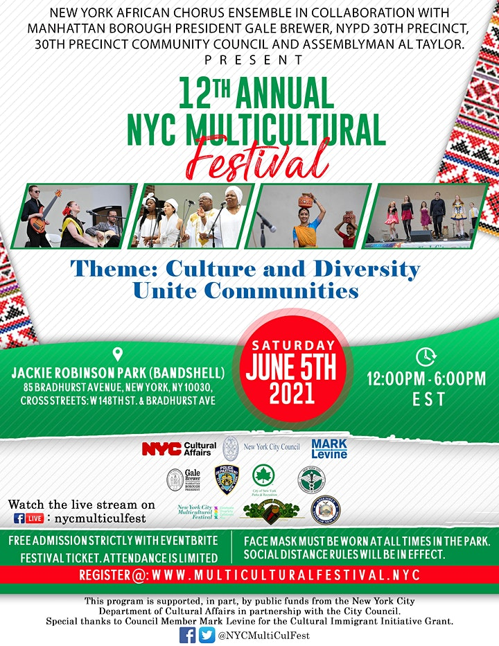 12th annual NYC Multicultural Festival Part II image