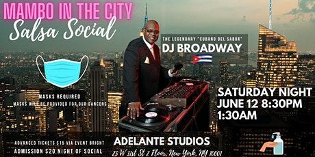 Salsa Mambo in the City Dance Social tickets