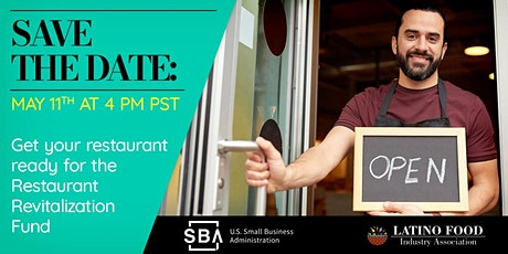 LFIA - SBA Restaurant Revitalization Fund Webinar tickets