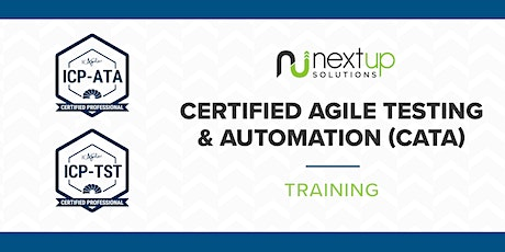 Certified Agile Testing and Automation Training (Virtual) tickets