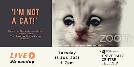 'I'm not a cat!' Humour in Computer-Mediated Communication. tickets