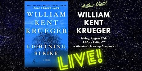 William Kent Krueger Introduces LIGHTNING STRIKE tickets