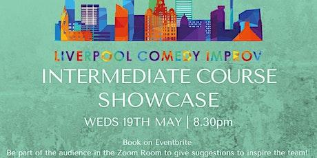 Intermediate Improv Course: Showcase! tickets