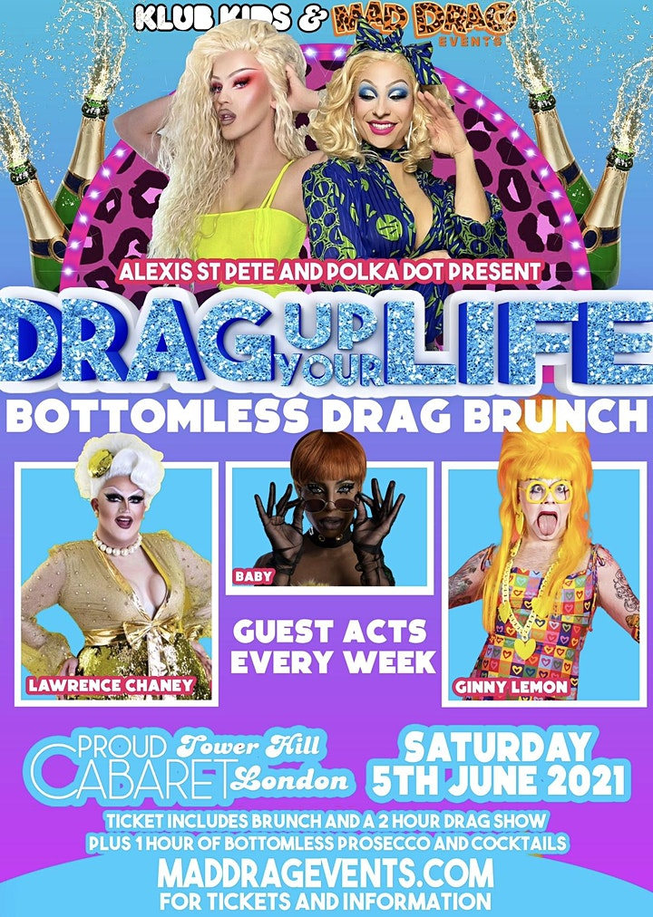 KLUB KIDS LONDON - THE DRAG BRUNCH (LAWRENCE & GINNY) Ages 18+ image