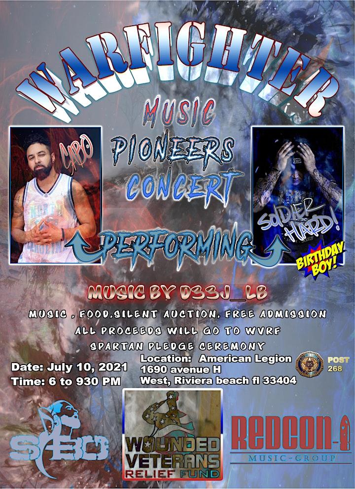 Warfighter Music Pioneers Concert- SABO & Soldier Hard Show image