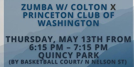Zumba Party W/ Colton  Quincy Park *Special Event* tickets