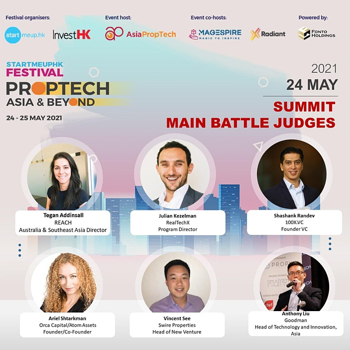 Asia PropTech, MaGESpire & Radiant Present: PropTech Asia & Beyond Summit image