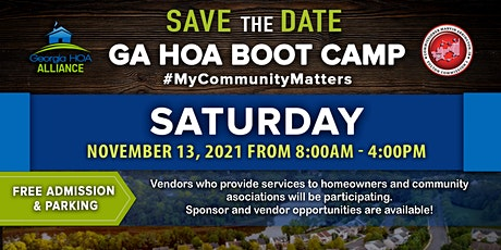 2021 Georgia HOA Boot Camp tickets