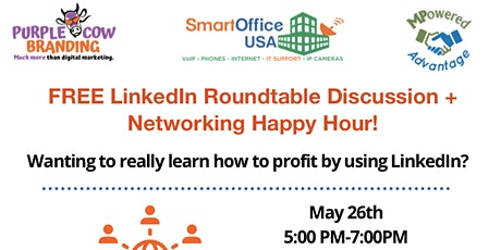 LinkedIn RoundTable + Networking HH! tickets