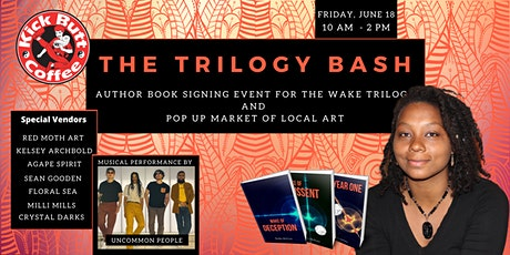 The Trilogy Bash // Author Book Signing and Pop Up Market tickets
