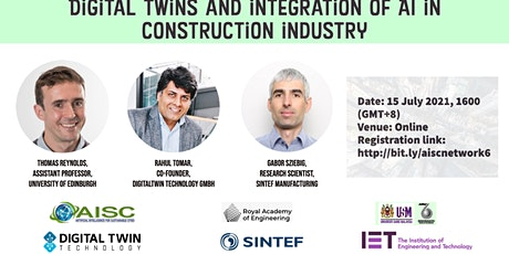 Digital twins and integration of AI in construction industry tickets