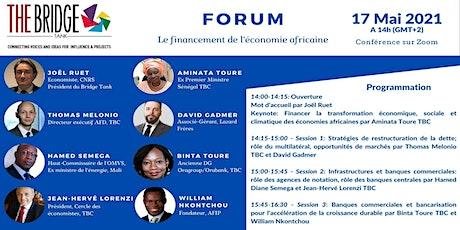 Forum sur le financement de l'économie africaine billets