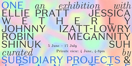 Private view: ONE tickets