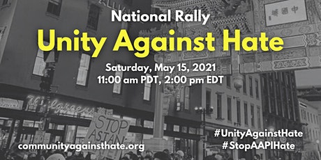 UNITY AGAINST HATE NATIONWIDE RALLY ( Boston Commom) tickets