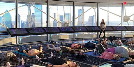 Sunset Yoga with City Yoga Dallas at Reunion Tower tickets