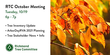 Richmond Tree Committee - 10/19/21 Meeting tickets