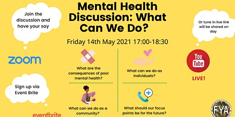 Mental Health Discussion: What Can We Do? tickets