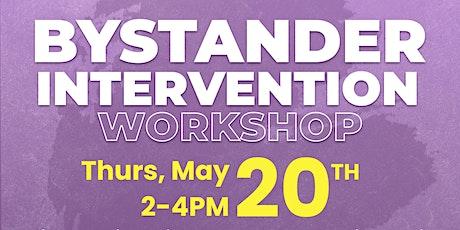 Bystander Intervention Workshop tickets