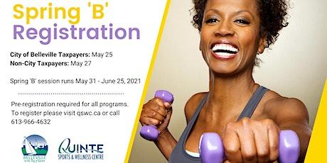 QSWC Spring 'B Recreation Registration tickets