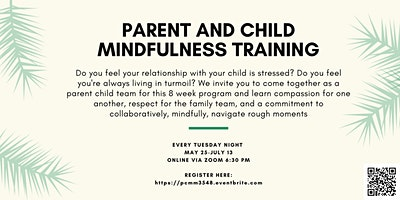 Parent & Child Mindfulness Matters   #3548