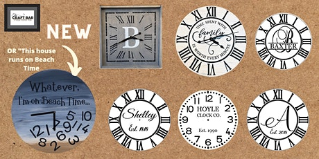 IT'S CLOCK NIGHT with our NEW BEACH CLOCK! tickets