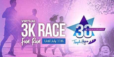 3K/5K/10K Virtual Race and Fun Run Temple Hayes 30 years in Ministry tickets