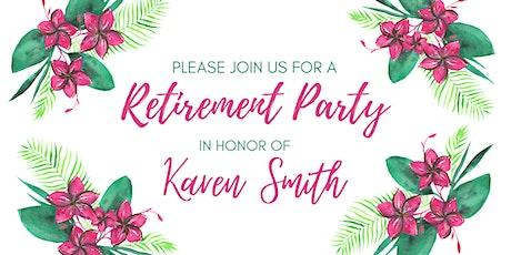 Karen's Retirement Party tickets