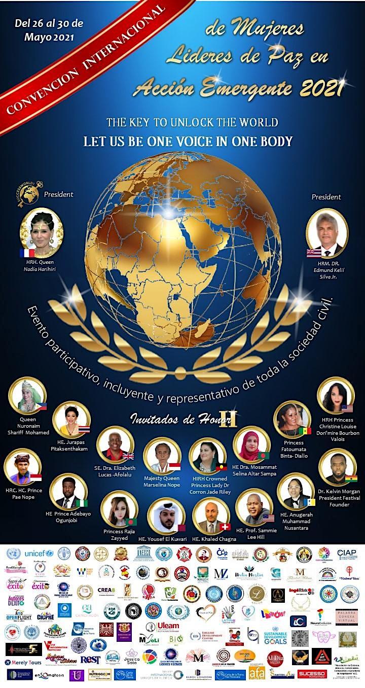 Convención Internacional de Mujeres Líderes de Paz en Acción Emergente image