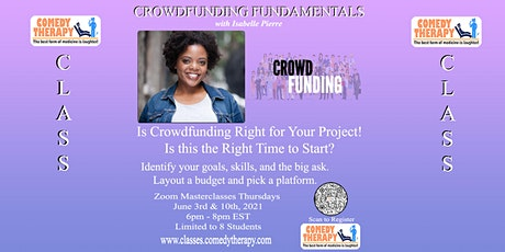 Crowdfunding with Isabelle Pierre tickets