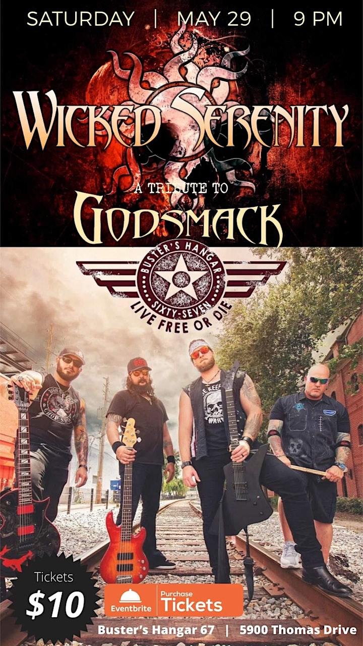 Wicked Serenity Godsmack &  Creed Tributes image