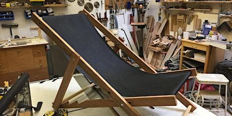 Juniors - Build a canvas deckchair to take home.  Age 11+ tickets