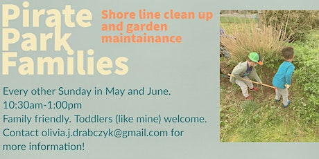Pirate Park Families Clean Up and Garden Beautification tickets