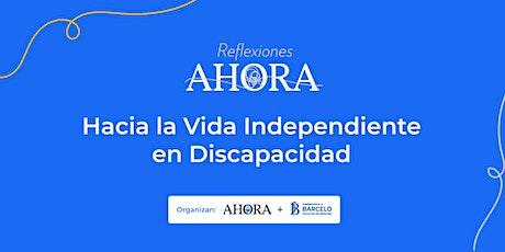 """2, 3 y 4  de Junio Jornadas """"Hacia la Vida Independiente en Discapacidad """" entradas"""