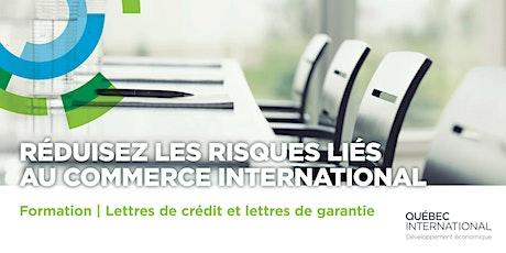 Lettres de crédit et lettres de garantie: outils pour la gestion du risque billets