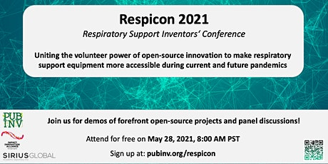 RespiCon: Respiratory Support Inventors' Conference tickets