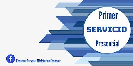 Primer Servicio Presencial Domingo 09/05/2021 boletos
