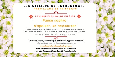 Atelier de sophrologie: S'apaiser, se ressourcer