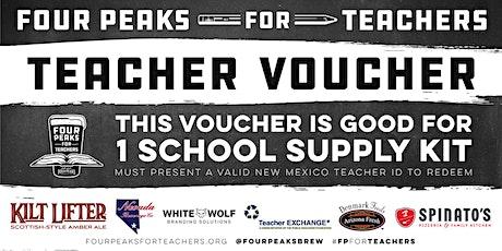 Four Peaks for Teachers School Supply Kit Pickup - Las Vegas tickets