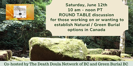 GREEN BURIAL -  PART 1 in a Series - A Roundtable Discussion tickets