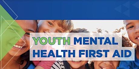 Youth Mental Health First Aid - Virtual Class tickets