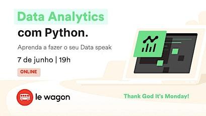 Analise de dados com Python - aprenda a fazer o seu Data speak | Le Wagon bilhetes