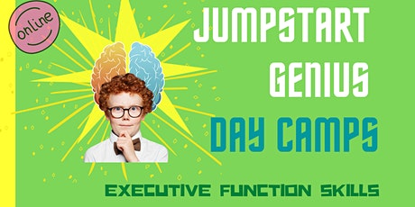 Summer Day Camp (JumpStart Genius): 2nd-3rd grade (ONLINE) tickets