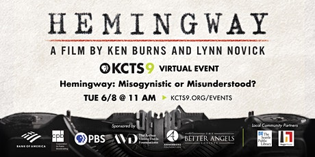 Hemingway: Misogynistic or Misunderstood? tickets