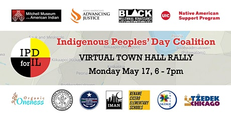 Indigenous Peoples' Day Coalition TOWN HALL RALLY tickets
