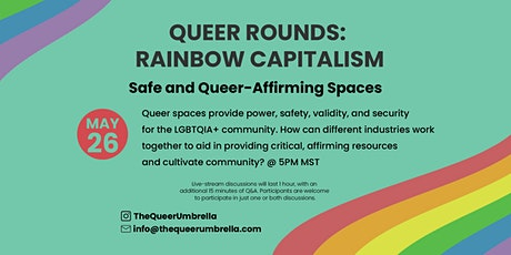 Safe and Queer-Affirming Spaces tickets