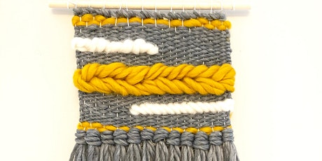 VIRTUAL: Introduction to Frame Loom Weaving with Molly Foley tickets